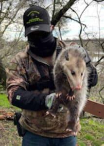armor hand opossum rescue 03
