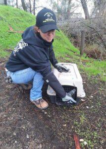armor hand opossum rescue 04